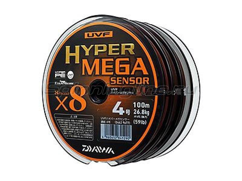Daiwa - Шнур UVF Hyper Mega Sensor 100м 5 - фотография 3