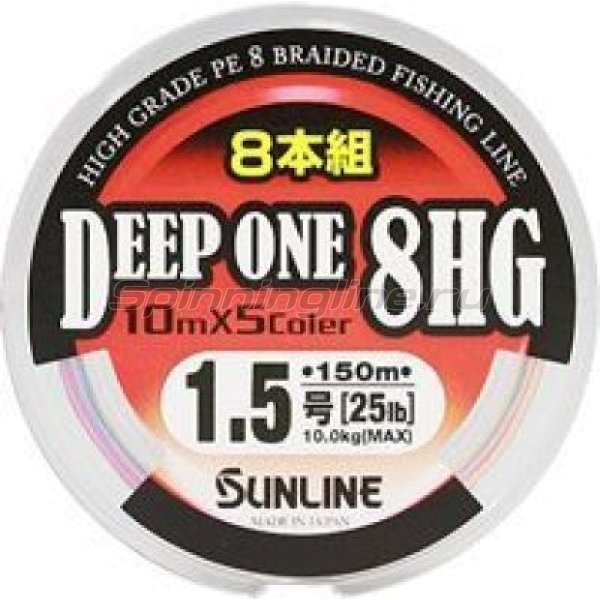 Sunline - Шнур Deep One 8HG 150м 1 - фотография 1