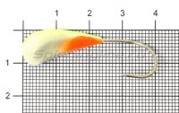Мормышка Fish Gold судаковая Трехгранка Светлячок кр. Gamakatsu 10гр 07 лимонный