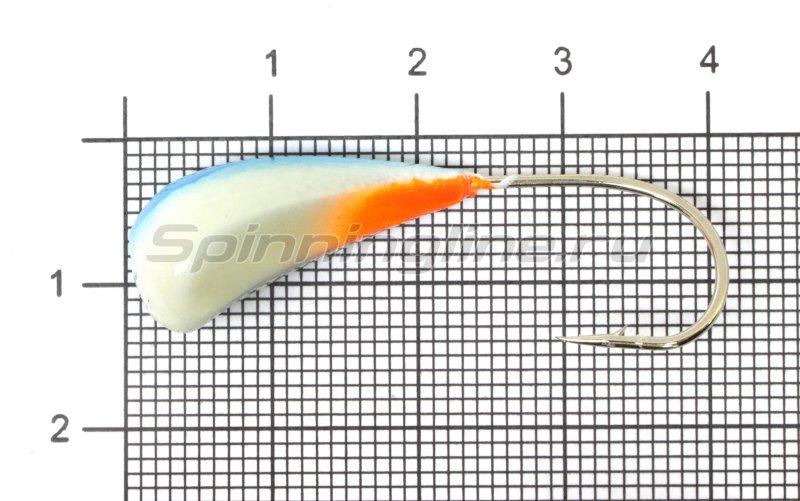 Fish Gold - Мормышка судаковая Трехгранка Светлячок кр. Gamakatsu 10гр 11 синий - фотография 1