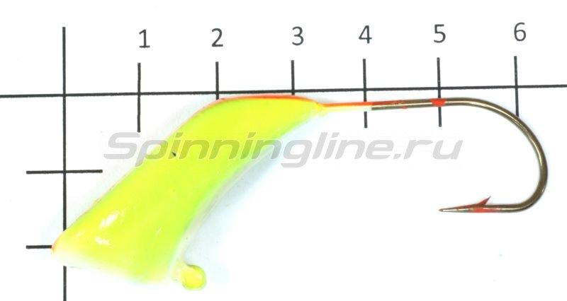 Fish Gold - Мормышка судаковая Башмачок Светлячок 40гр желто-красная - фотография 1