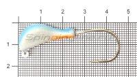 Мормышка судаковая Банан Светлячок кр. Gamakatsu 11гр синий