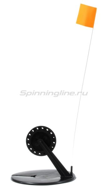 Жерлица Три Кита круглая с угловой стойкой в сумке серая (упак. 10шт) -  2