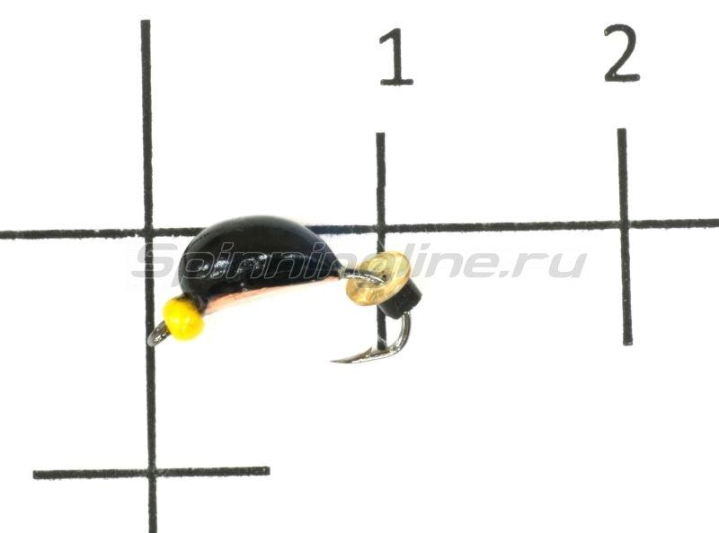 Окский берег - Мормышка Нимфа широкая d2 медь - фотография 1