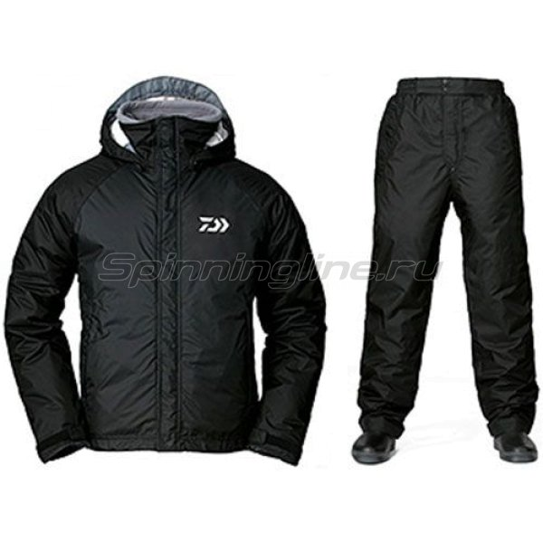 Костюм Daiwa Rainmax Winter Suit Black XL - фотография 1