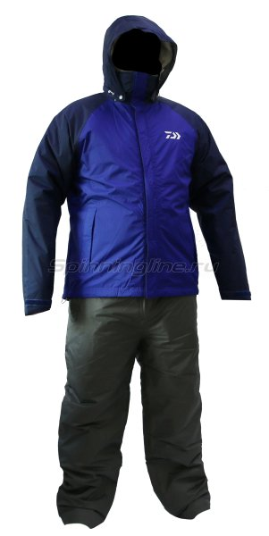 Костюм Daiwa DW-3503 Rainmax Winter Suit Blue XL -  1
