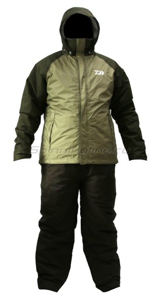 Костюм Daiwa Rainmax Winter Suit Olive L - фотография 1
