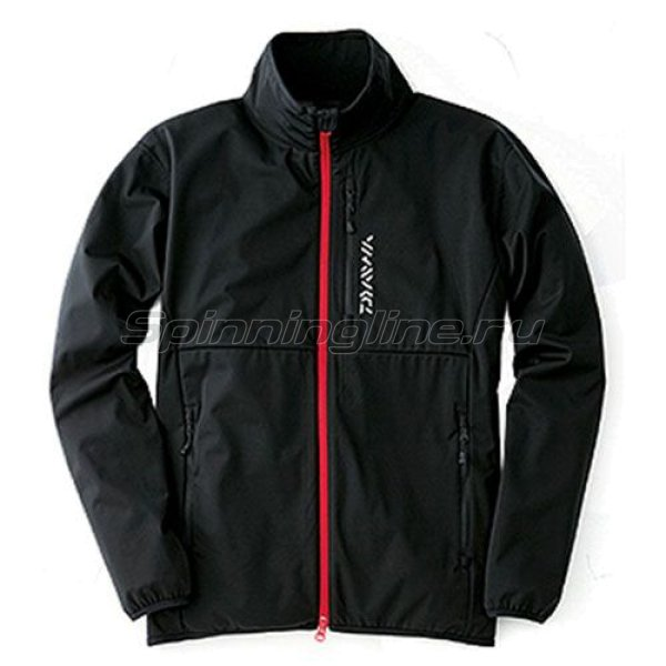 Куртка Daiwa Wind Block Stretch Jacket Black XXL - фотография 1