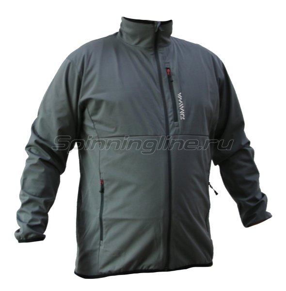 Куртка Daiwa Wind Block Stretch Jacket Cool Gray XXL - фотография 1