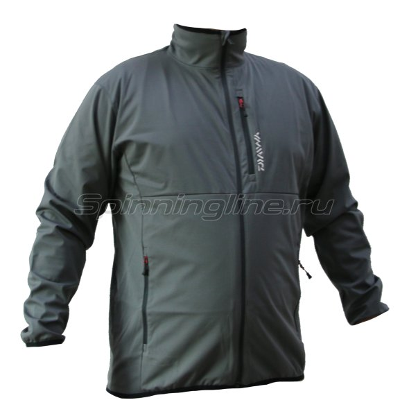 Куртка Daiwa Wind Block Stretch Jacket Cool Gray XL - фотография 1