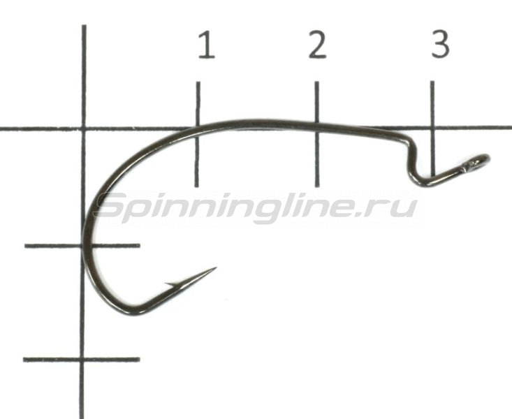 Agat - Крючок Offset Hook Wide Gape 5071 №2 - фотография 1