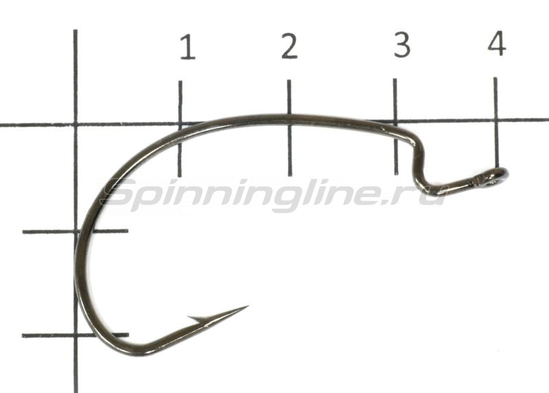 Agat - Крючок Offset Hook Wide Gape Strong 5072 №1/0 - фотография 1