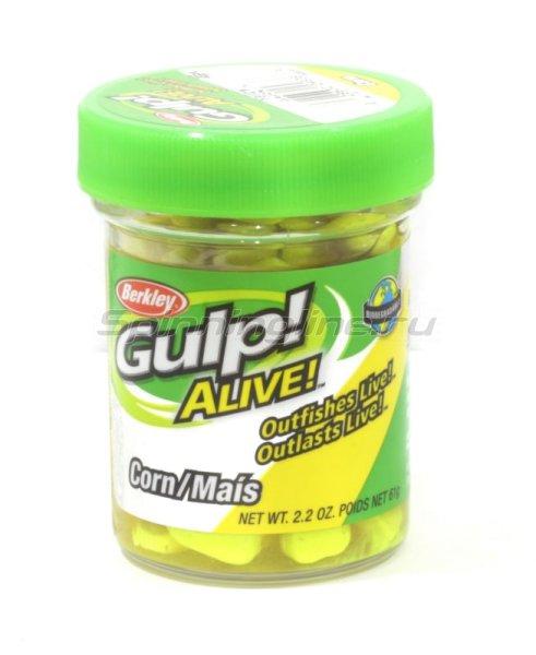 Искусственная кукуруза Gulp Alive Corn yellow -  1