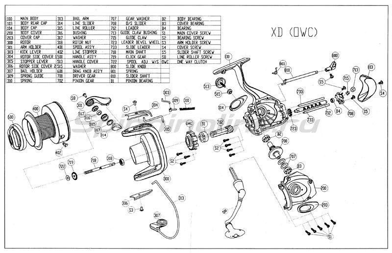 Катушка Compact LC Silver 700 -  5