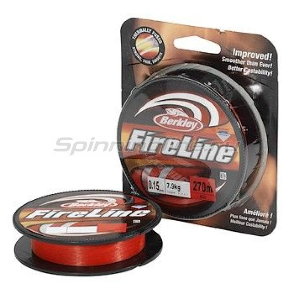 Berkley - Шнур FireLine Red 110м 0.25мм - фотография 1