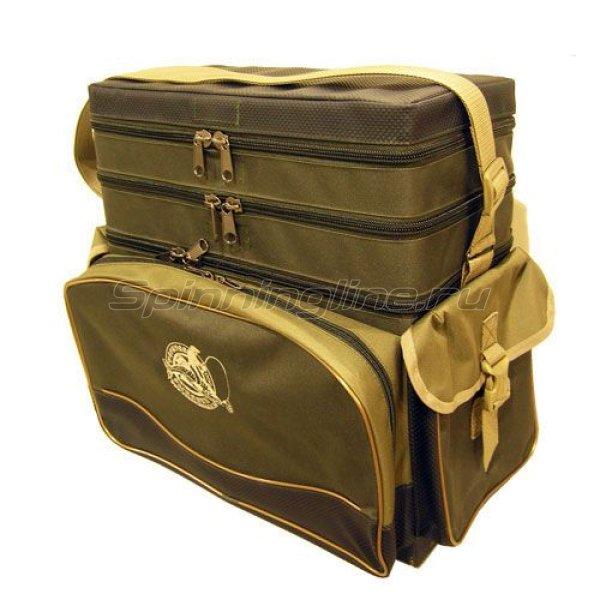 Ящик-рюкзак рыболовный 3-х ярусный -  1