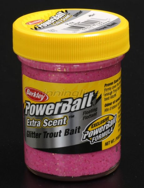 Паста Berkley Select Glitter TroutBait Pink -  1