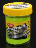Паста Berkley Select Glitter TroutBait Chartreuse
