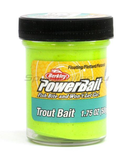Паста Berkley Biodegradable TroutBait Chartreuse (смесь рыбных запахов) -  1