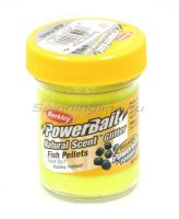 Паста Berkley Natural scent TroutBait Fish pellet Sunshine yellow (рыбный пеллетс)