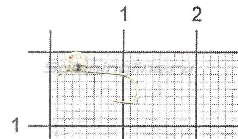 Lumicom - Мормышка Шар фигурный с ушком d2 серебро - фотография 1