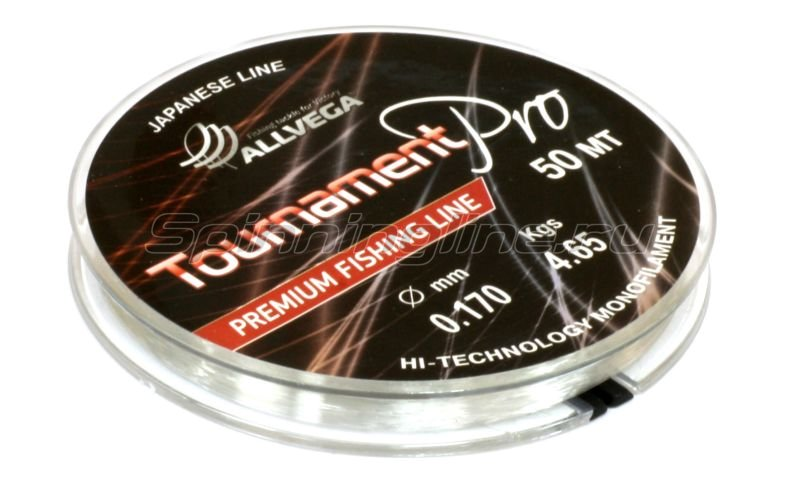 Allvega - Леска Tournament Pro Premium New 50м 0.105мм - фотография 2