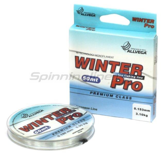 Леска Winter Pro 50м 0,19мм -  1