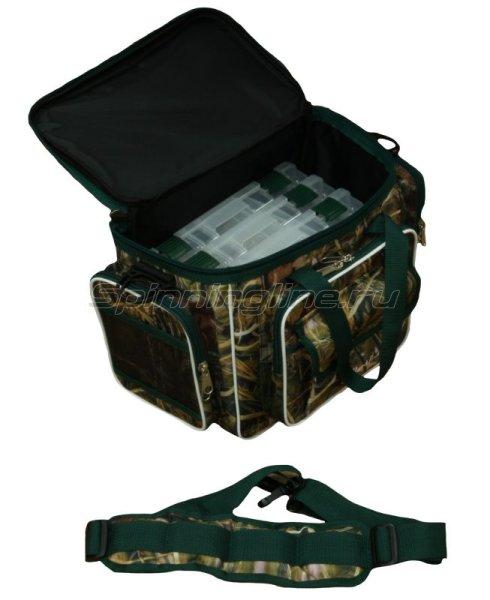 Сумка Markfish Minibag с коробками P3650 camo -  5