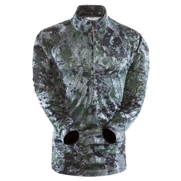 Sitka - Рубашка Core Zip-T Ground Forest р. M - фотография 1