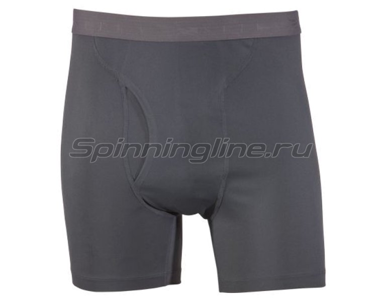 Sitka - Боксеры Core Silk Weight Boxer Lead р. 2XL - фотография 1