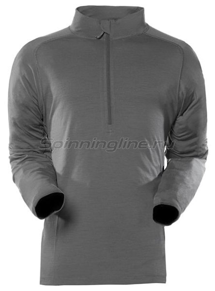Sitka - Рубашка Merino Core Zip-T Charcoal р. 2XL - фотография 1