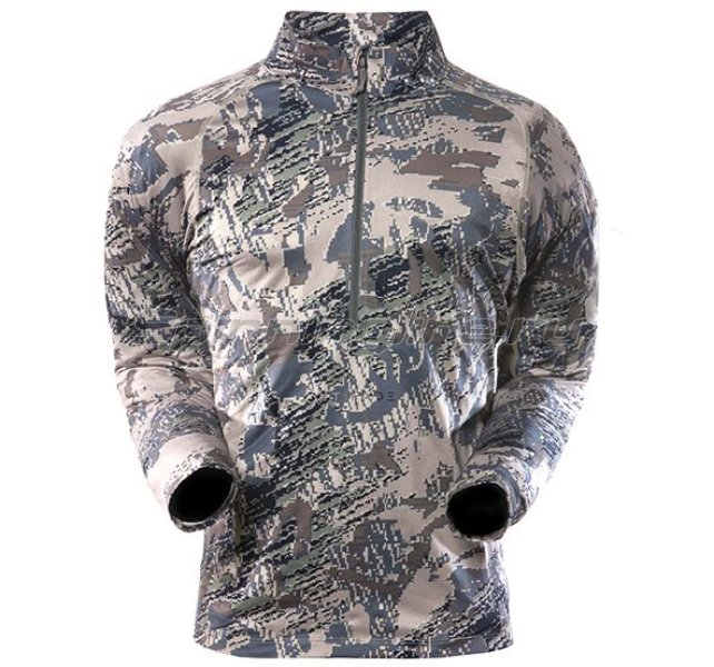 Sitka - Рубашка Merino Core Zip-T Open Country р. M - фотография 1