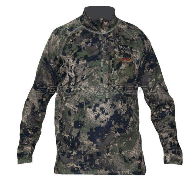 Рубашка Traverse Zip-T Ground Forest р. XL -  1