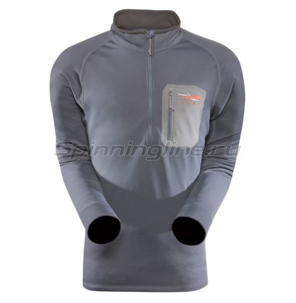 Sitka - Рубашка Traverse Zip-T Ash р. 2XL - фотография 1