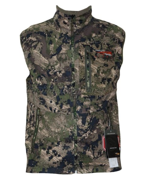 Sitka - Жилет Jetstream Vest Ground Forest р. 2XL - фотография 1