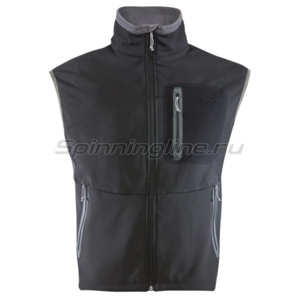 Sitka - Жилет Jetstream Vest Black р. 2XL - фотография 1