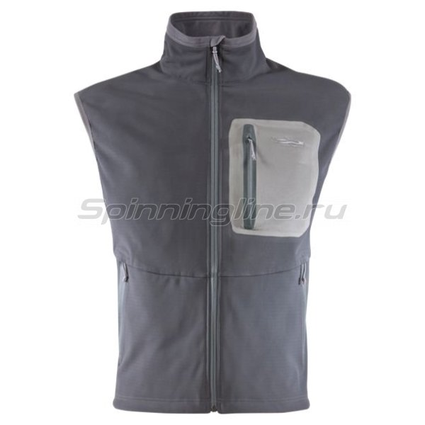 Sitka - Жилет Jetstream Vest Woodsmoke р. 2XL - фотография 1