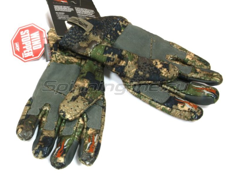 Sitka - Перчатки Stratus Glove Ground Forest р. XL - фотография 2