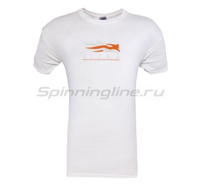 Sitka - Футболка Alaska Word Cloud SS White р. 3XL - фотография 1
