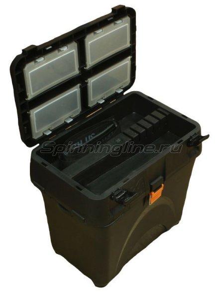Ящик рыболовный A-Elita Comfort базовый черный - фотография 2