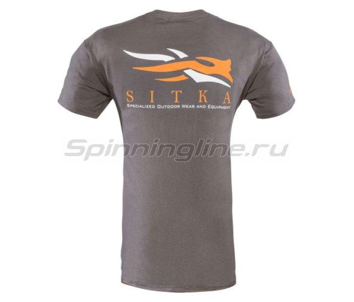Sitka - Футболка Gear Shirt SS Ash р. L - фотография 2