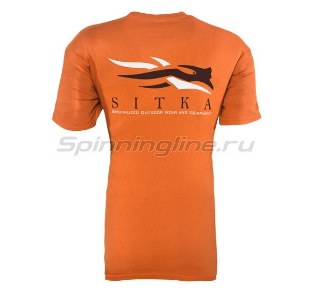 Футболка Gear Shirt SS Burnt Orange р. M -  2