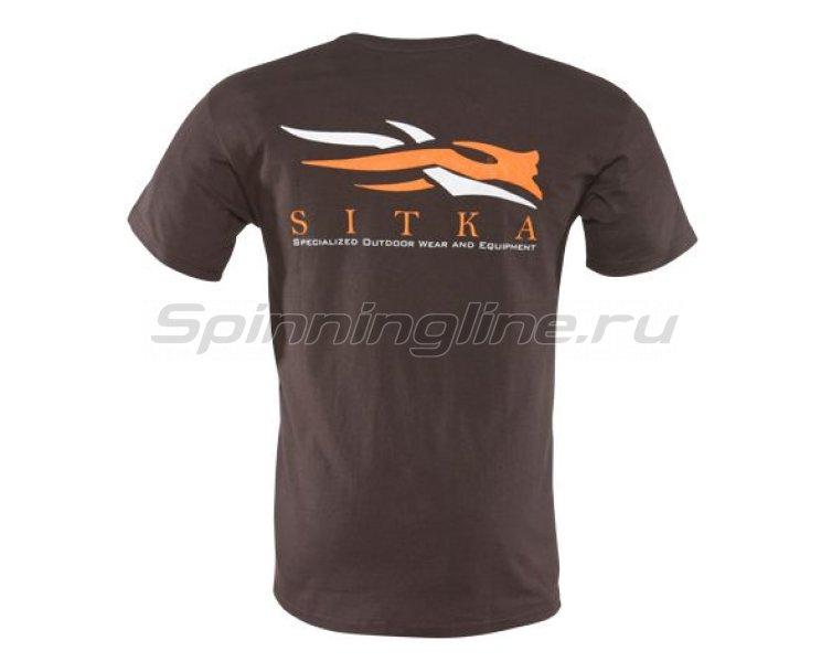 Sitka - Футболка Gear Shirt SS Mocha р. M - фотография 2