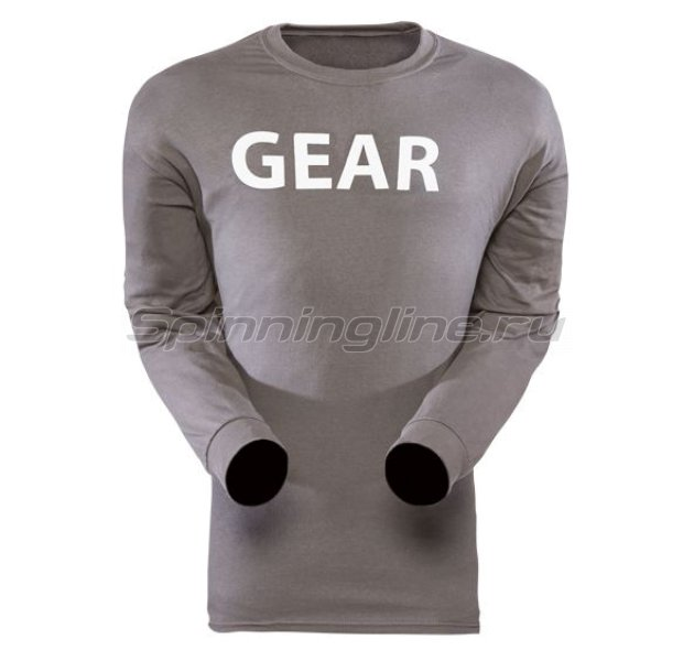 Sitka - Футболка Gear Shirt LS Ash р. XXL - фотография 1