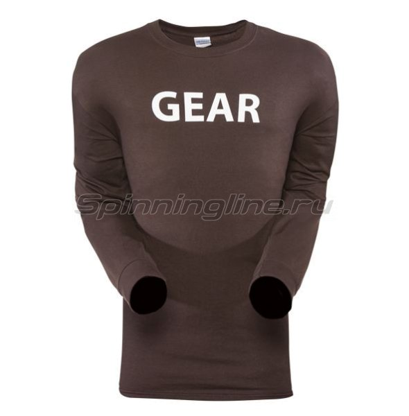 Футболка Gear Shirt LS Mocha р. XXL -  1