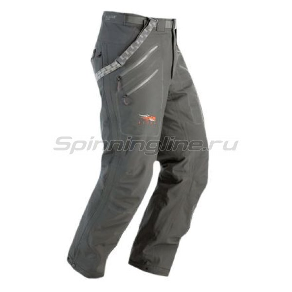 Sitka - Штаны Coldfront Bib Pant New Woodsmoke- Tall р. L - фотография 1