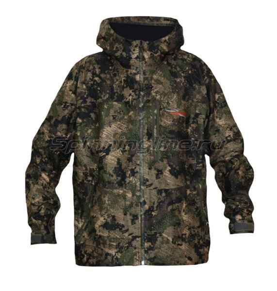 Куртка Downpour Jacket Ground Forest р. S -  1