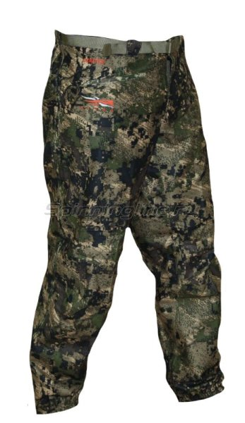 Sitka - Штаны Downpour Pant Ground Forest- Tall р. L - фотография 1