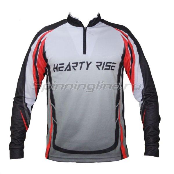 Hearty Rise - Футболка HR L красно-серая - фотография 1