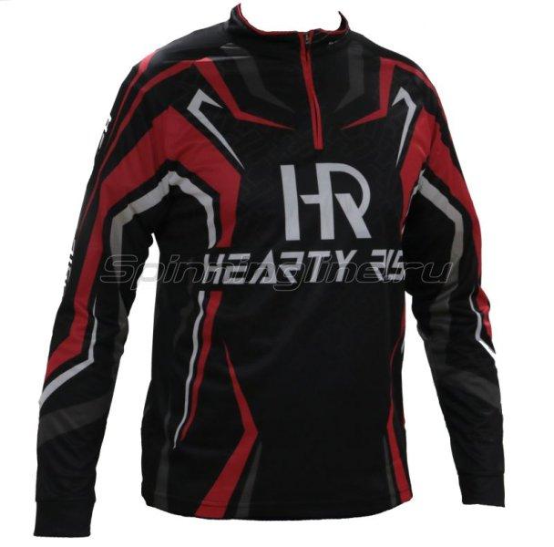 Hearty Rise - Футболка HR M черно-красная - фотография 1